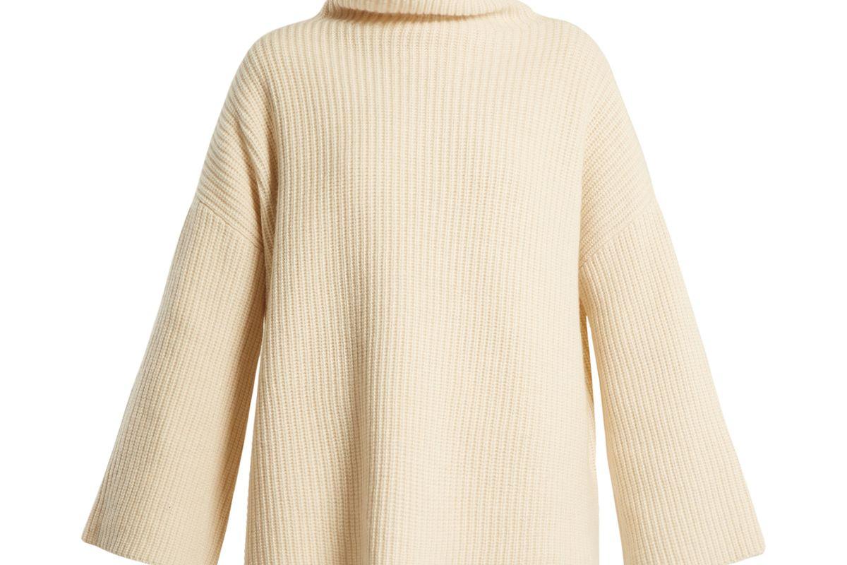 Violina High-neck Cashmere Sweater