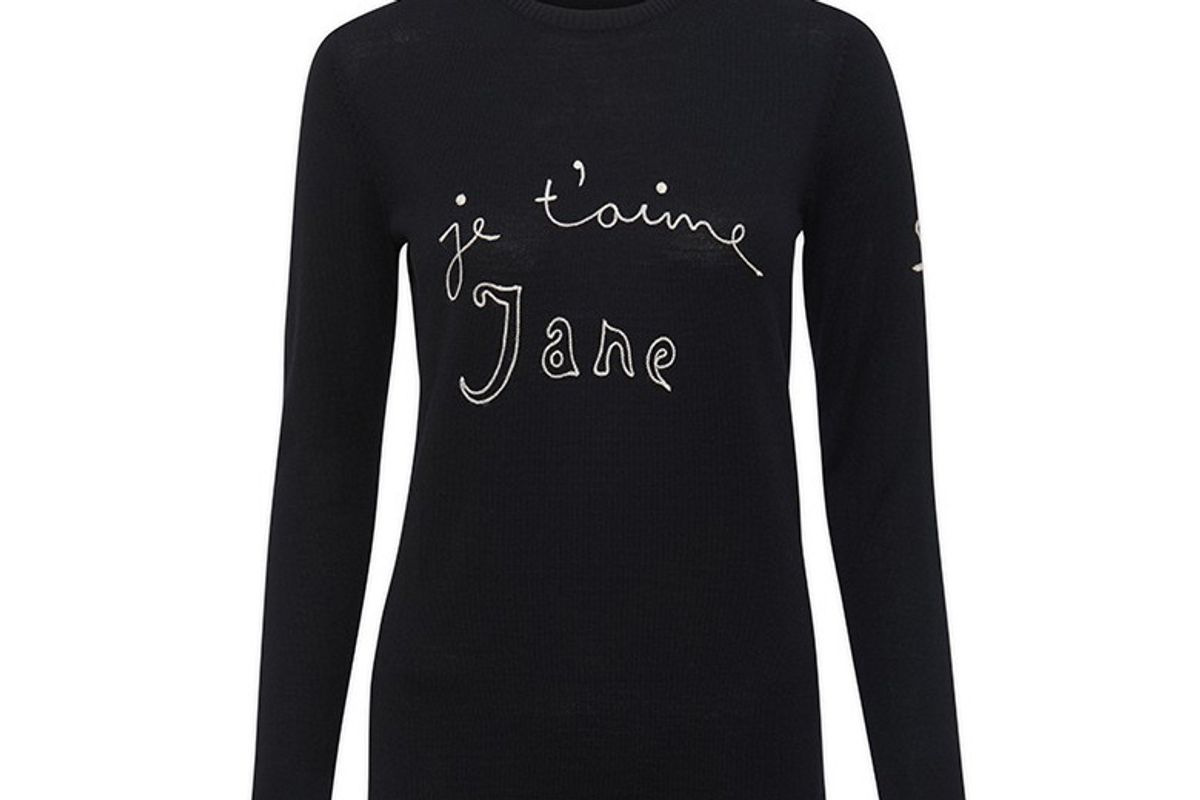 Je t'aime Jane Merino-wool Sweater
