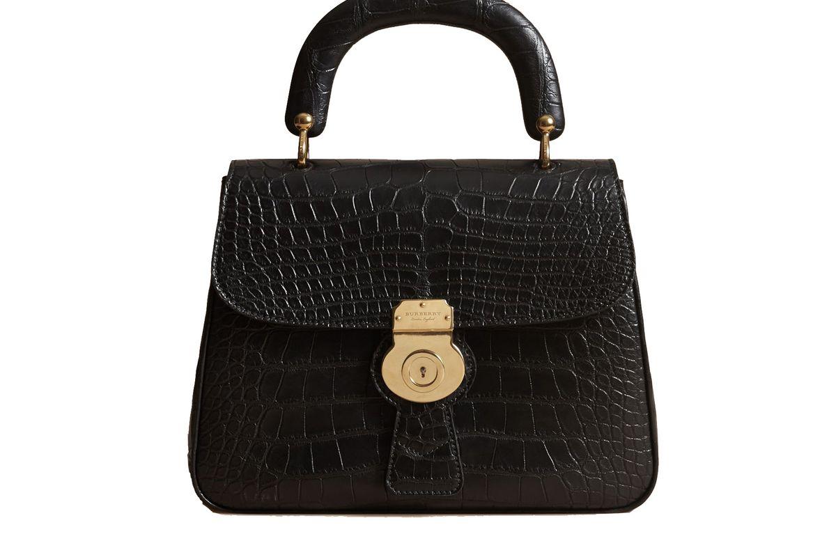 The Medium DK88 Top Handle Bag in Alligator