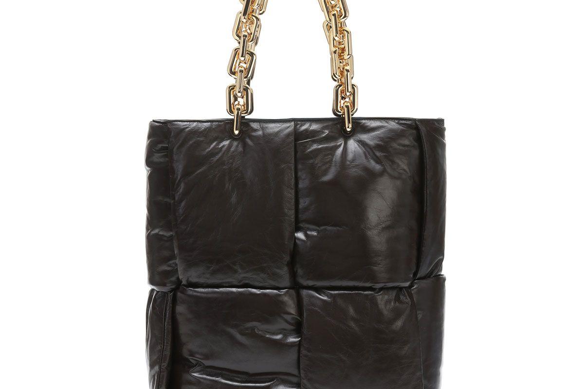 bottega veneta the chain leather tote