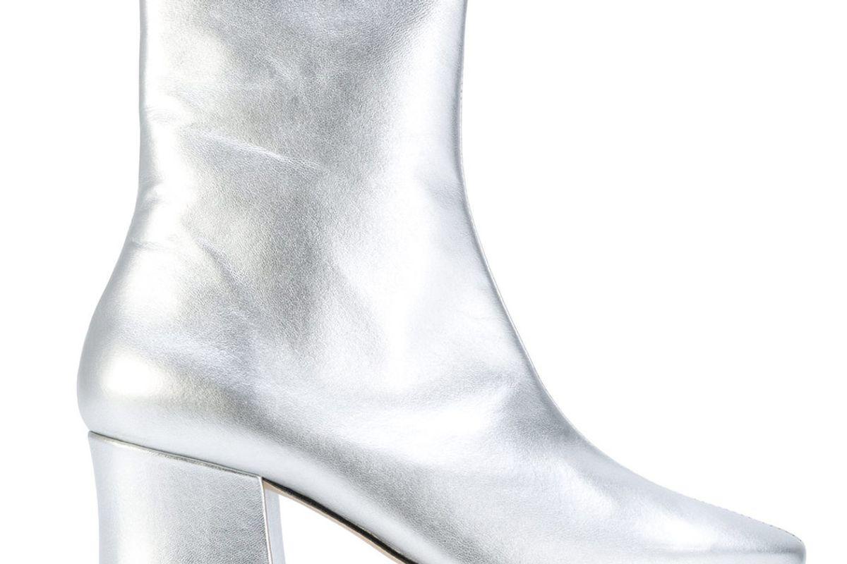 Silver Sybil Leek Boots