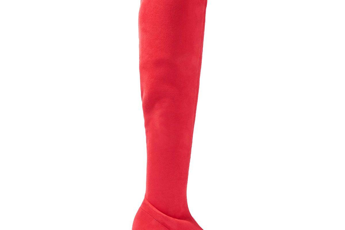 Cappuccino High Leg Boots