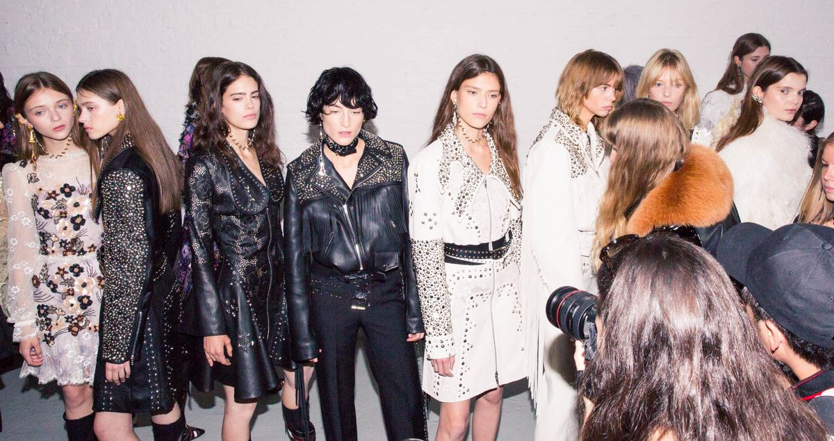 Behind the Scenes at Rodarte's Spring '17 Show