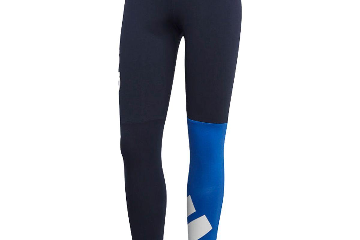 adidas womens athletics must haves colorblock 7 8 tights