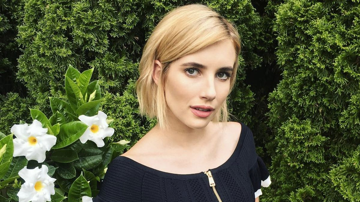 Emma Roberts's Colorist Has the *Best* Tips for Preventing Hair Damage
