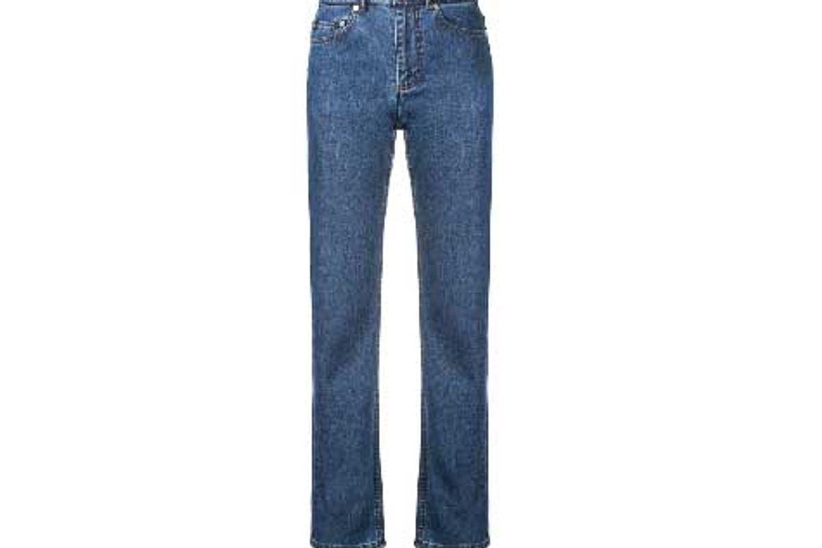 apc straight leg jeans