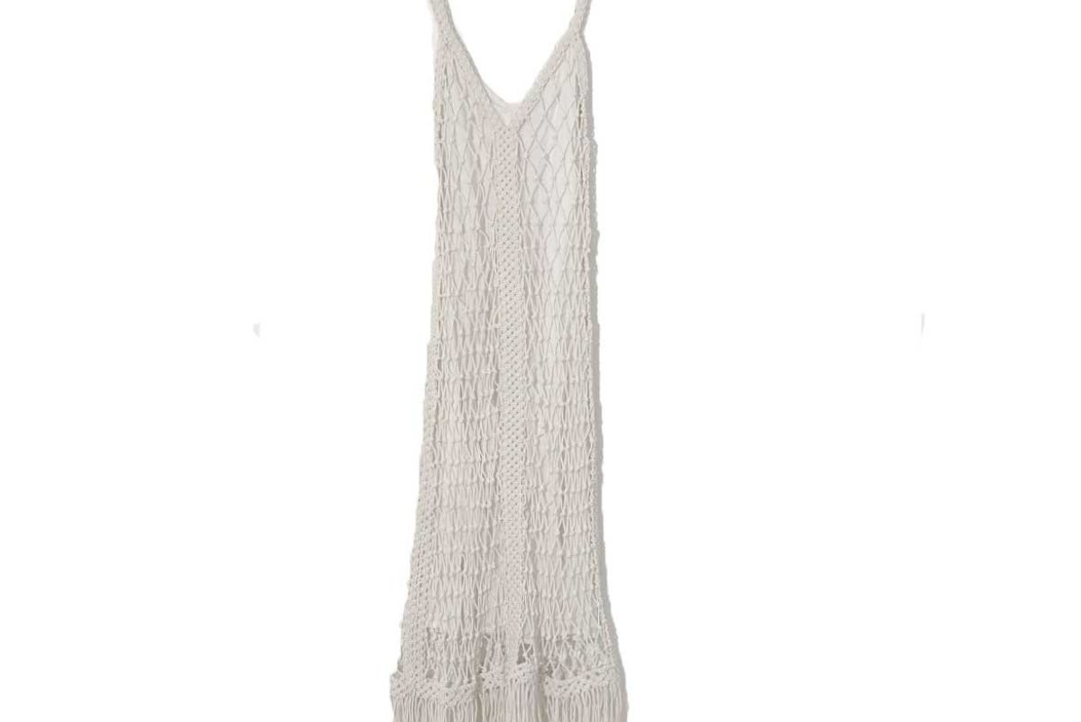 apiece apart vasilisa macrame dress