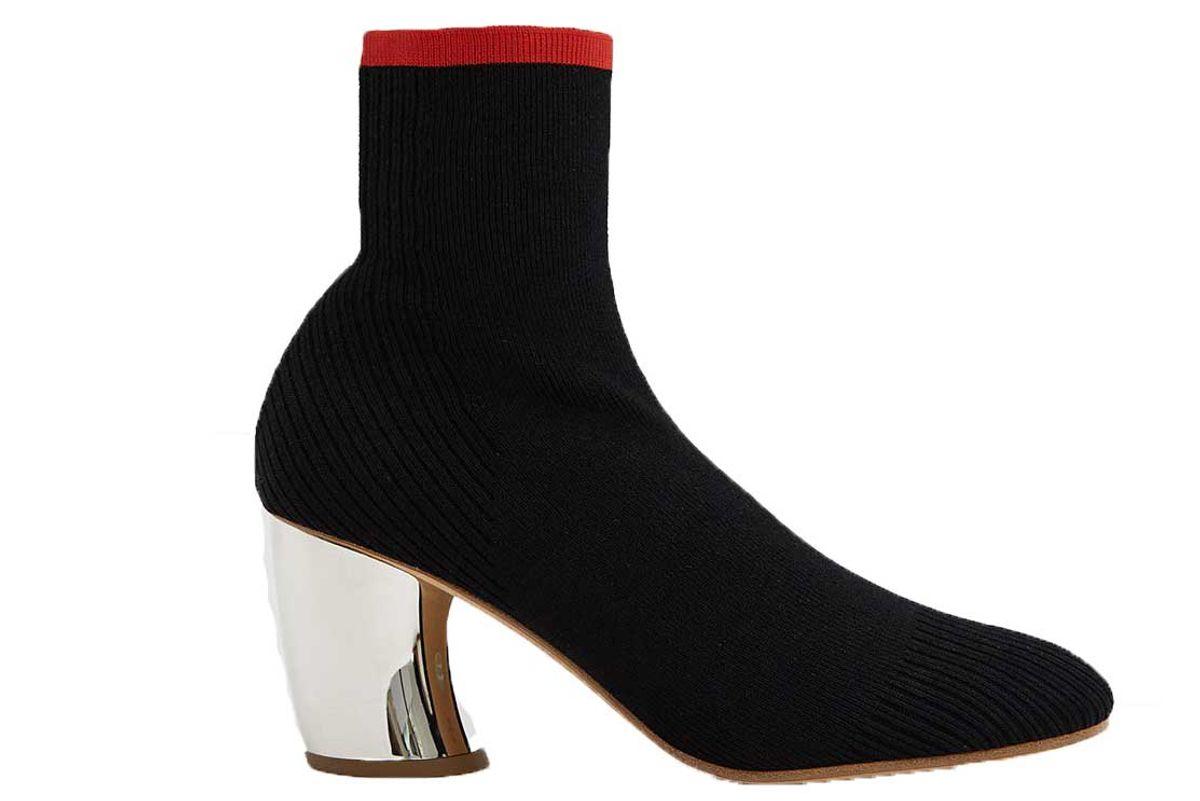 proenza schouler high heel knit boot