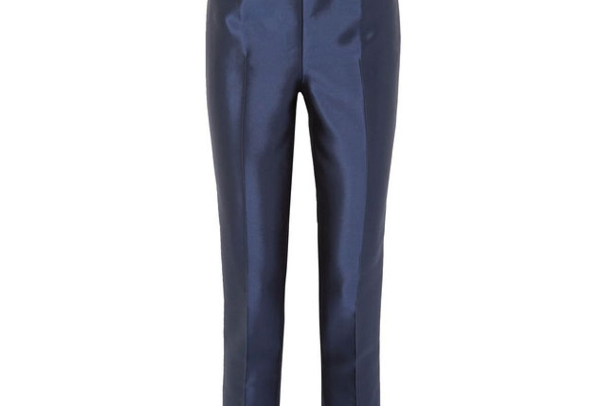 gabriela hearst masto silk and wool blend tapered pants