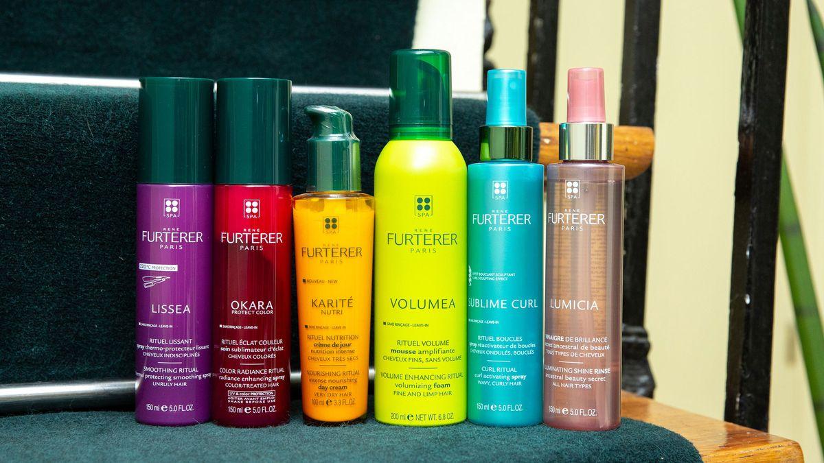 rene furterer shampoo technique