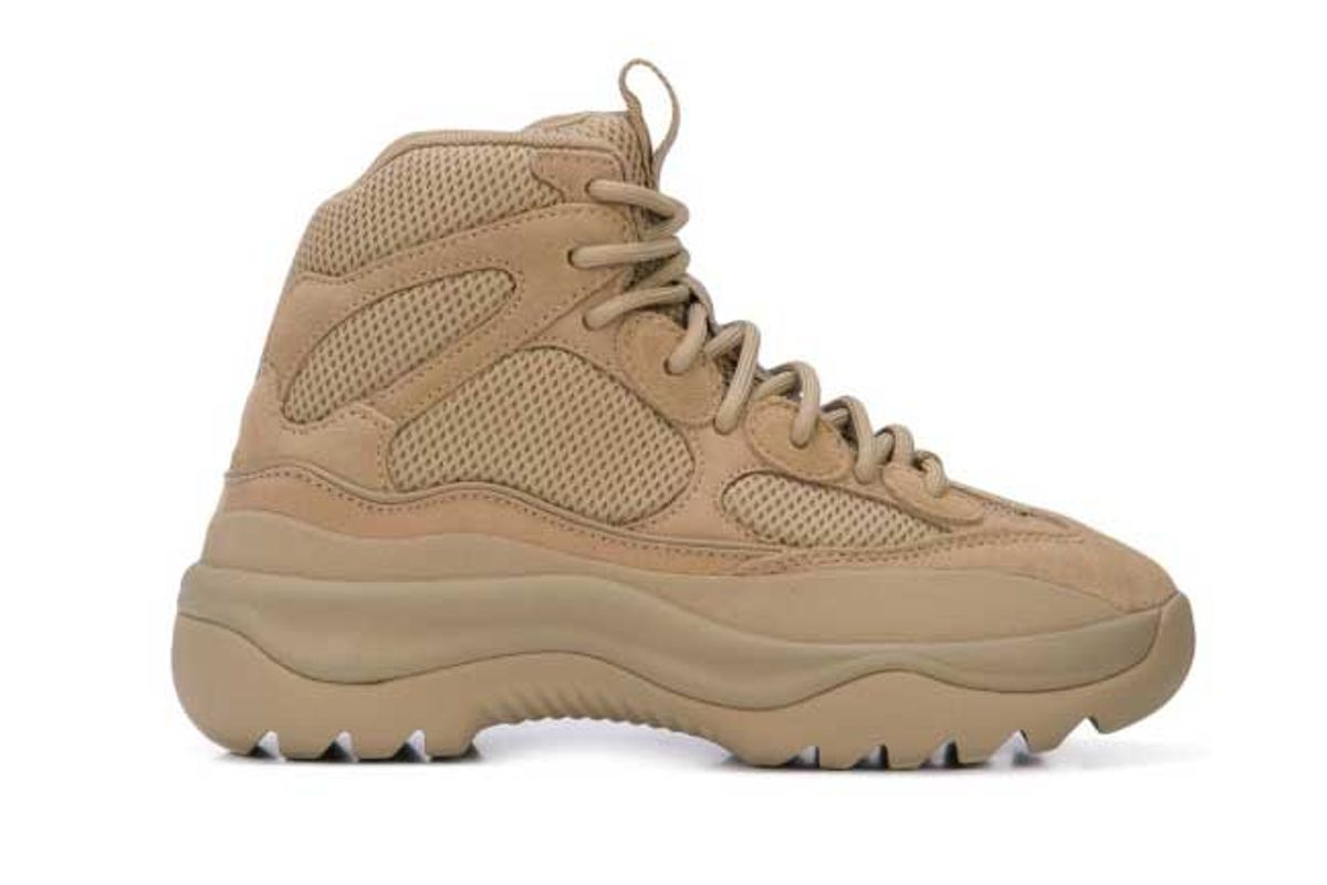 yeezy thick sole hiking boots item