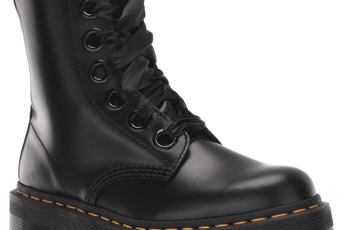 dr martens molly womens leather platform boots