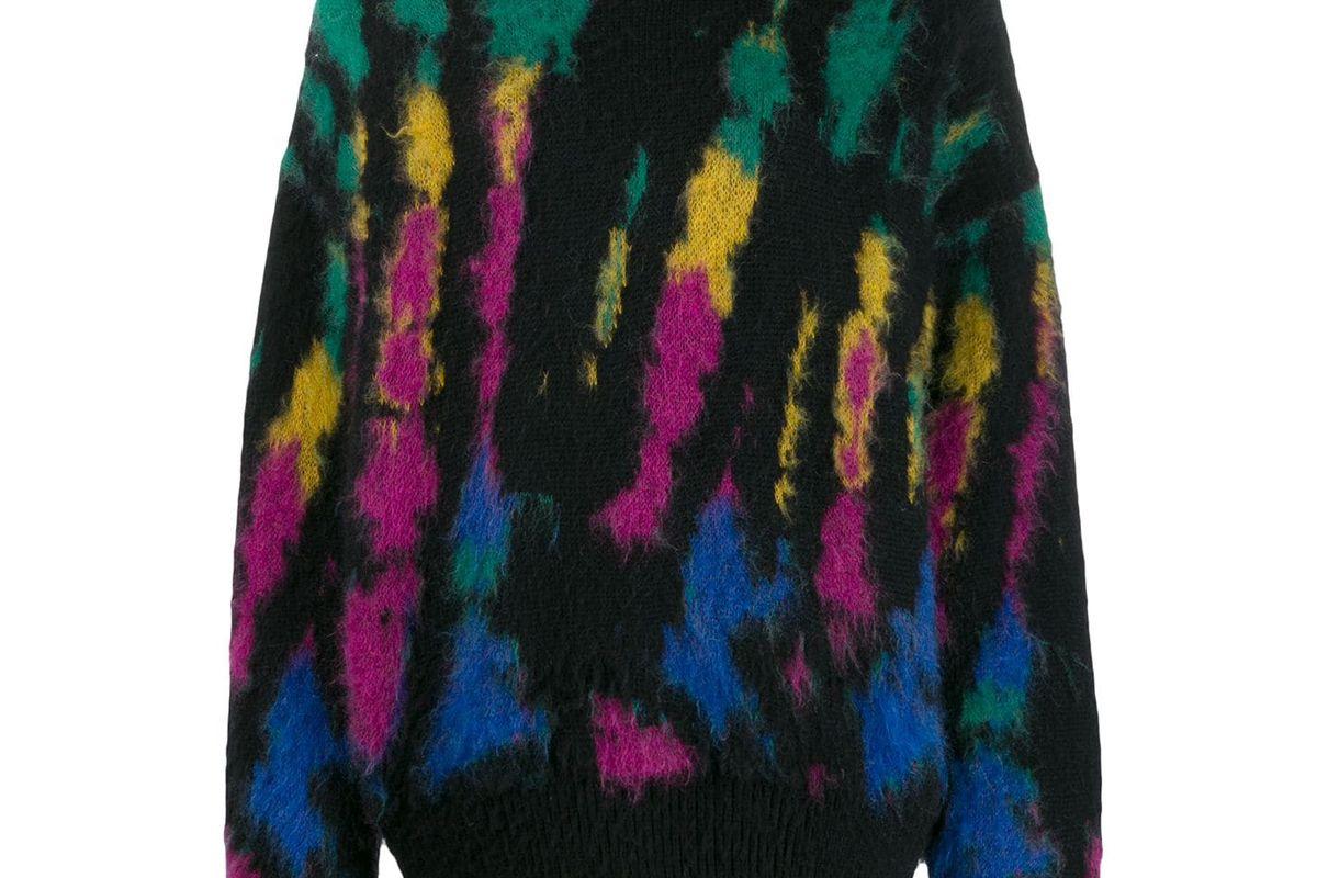 dsquared2 tie dye jumper