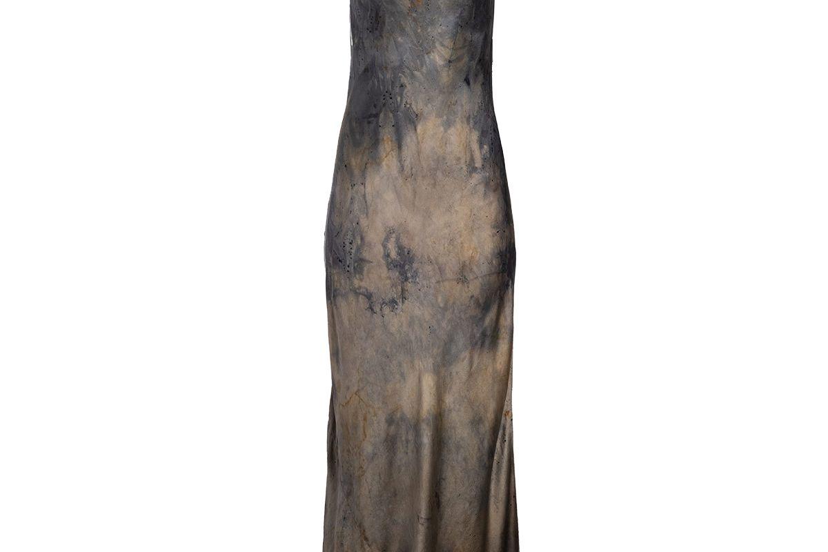 dannijo dusk natural hand dyed slip dress