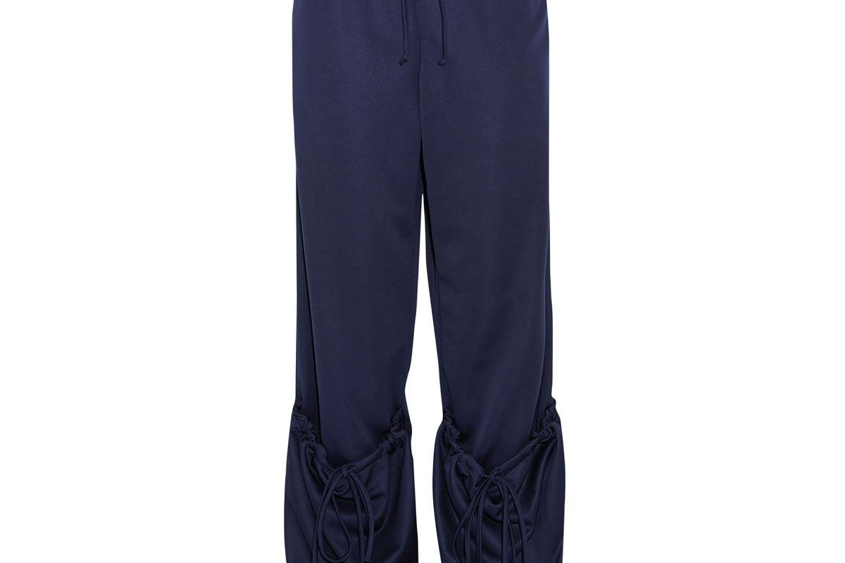 j.w.anderson pocket detailed jersey track pants
