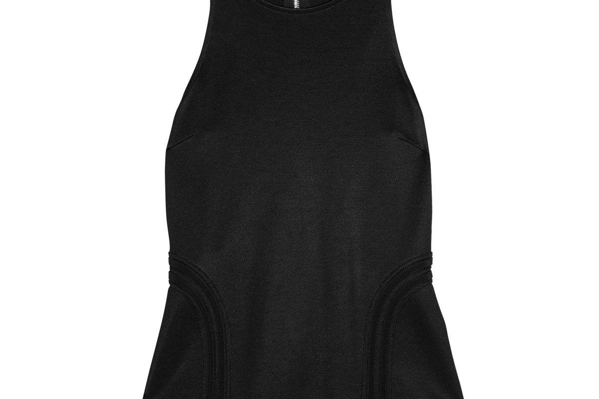 versus versace buckle embellished stretch knit top