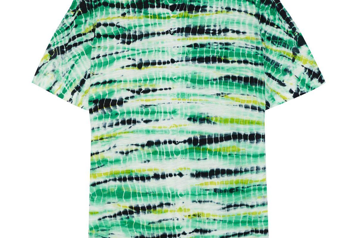 proenza schouler tie-dye cotton jersey t-shirt