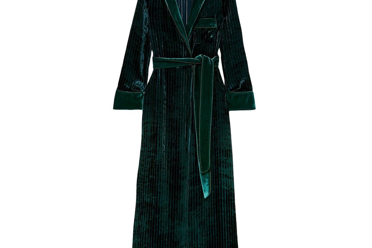 frs for restless sleepers roda belted quilted velvet robe