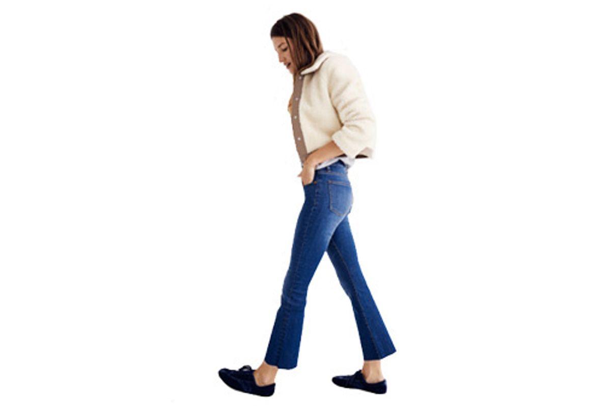 Cali Demi-boot Jeans: Raw-hem Edition