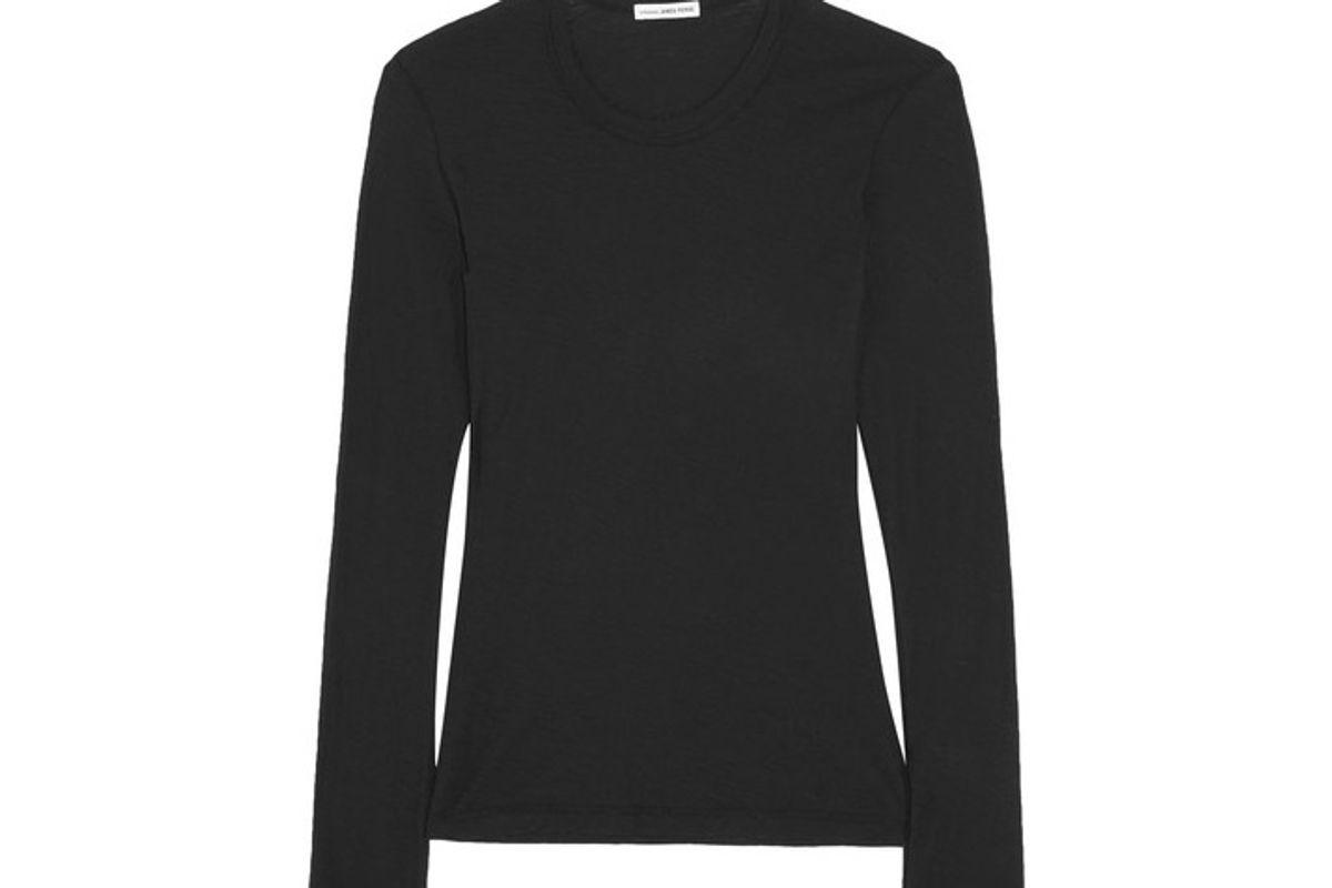 Slub Cotton-jersey Top