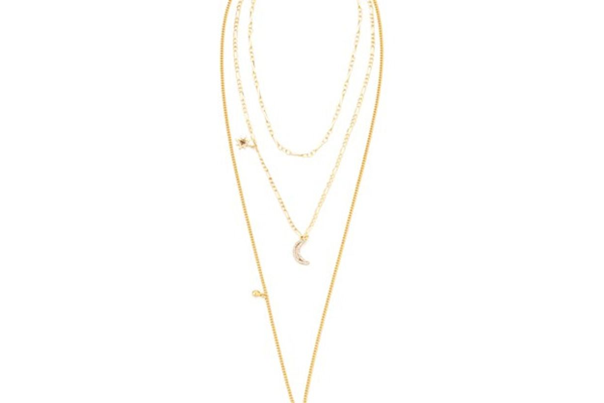 Stargazing Layered Delicate Necklace