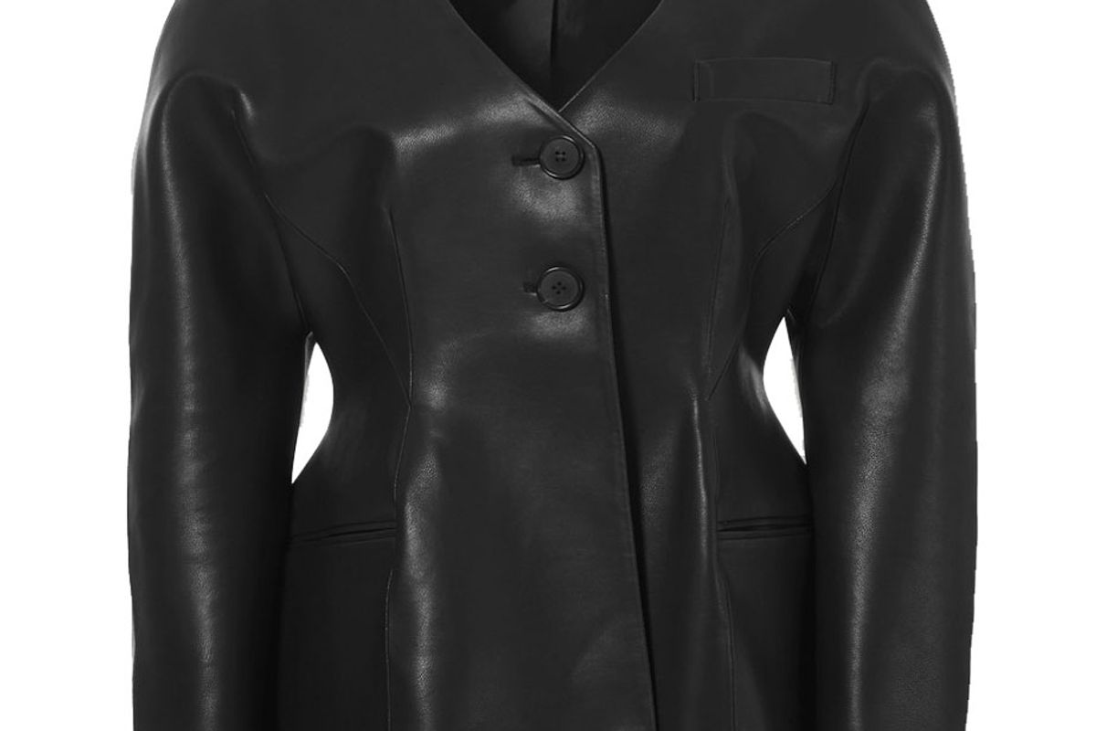 livir faux leather jacket