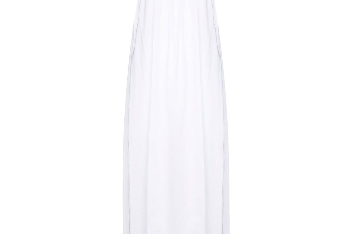 toteme macau maxi dress