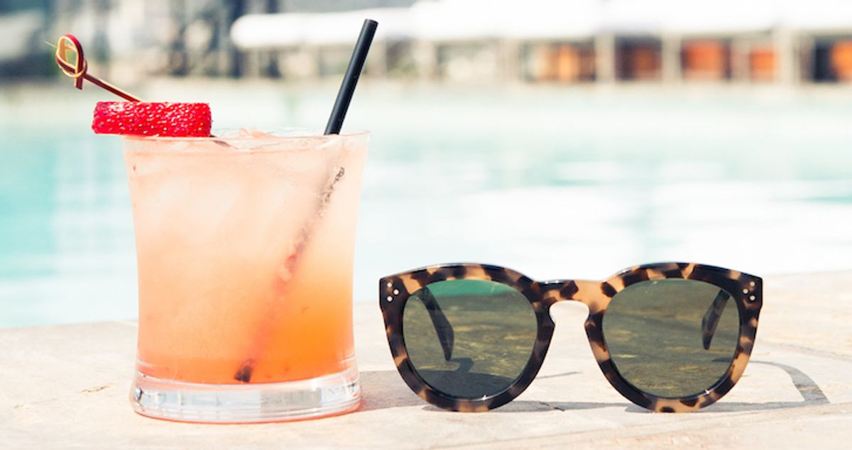 Day Drinking: Strawberry Smash at Sixty Beverly Hills