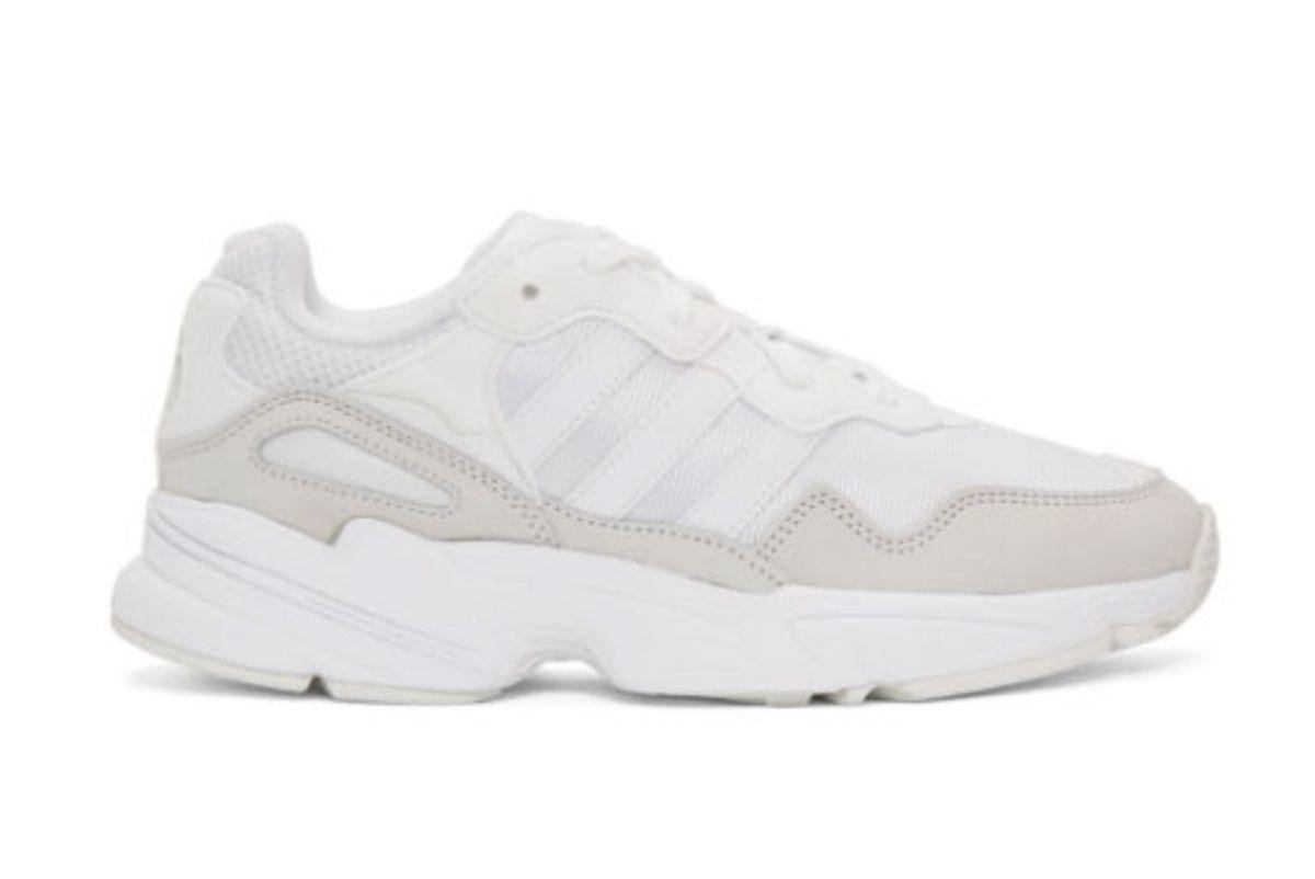 adidas white yung 96 sneaker