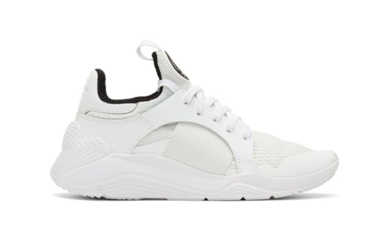 alexander mcqueen white gishiki sneakers