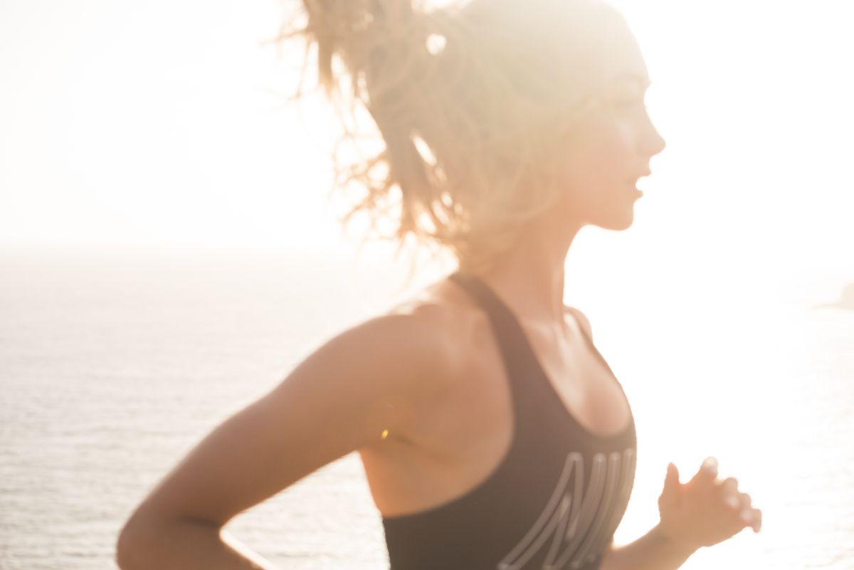 how models train to run