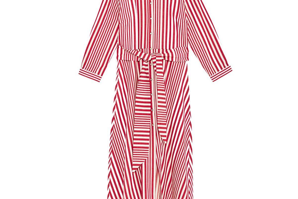 Striped Shirt-Style Tunic
