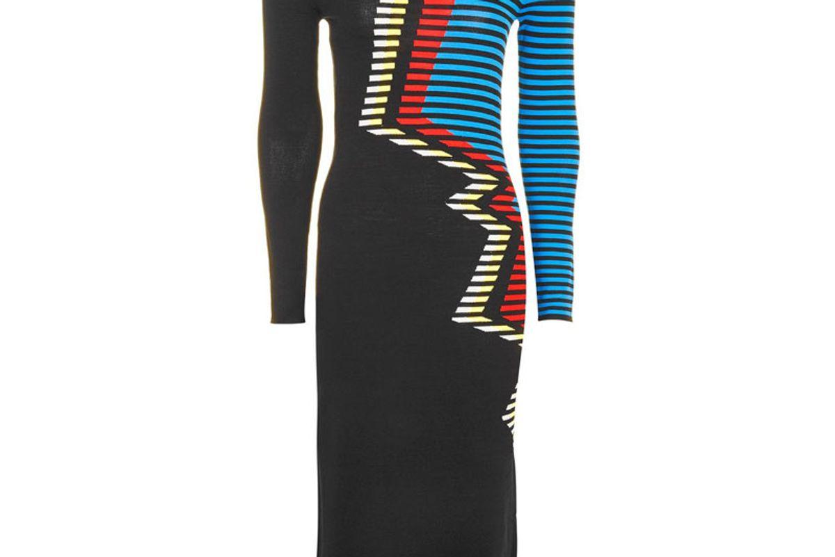 Zig Zag Pattern Dress