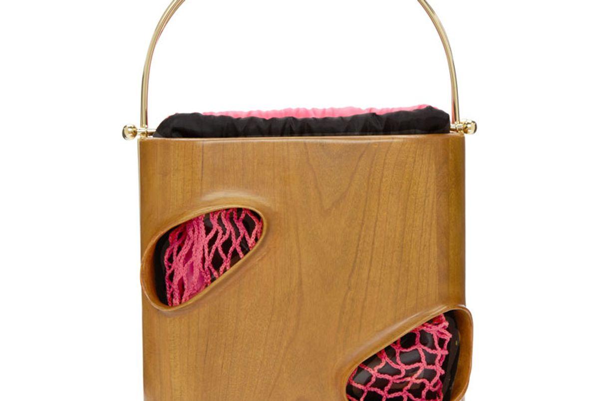 Brown Wood E1027 Bag