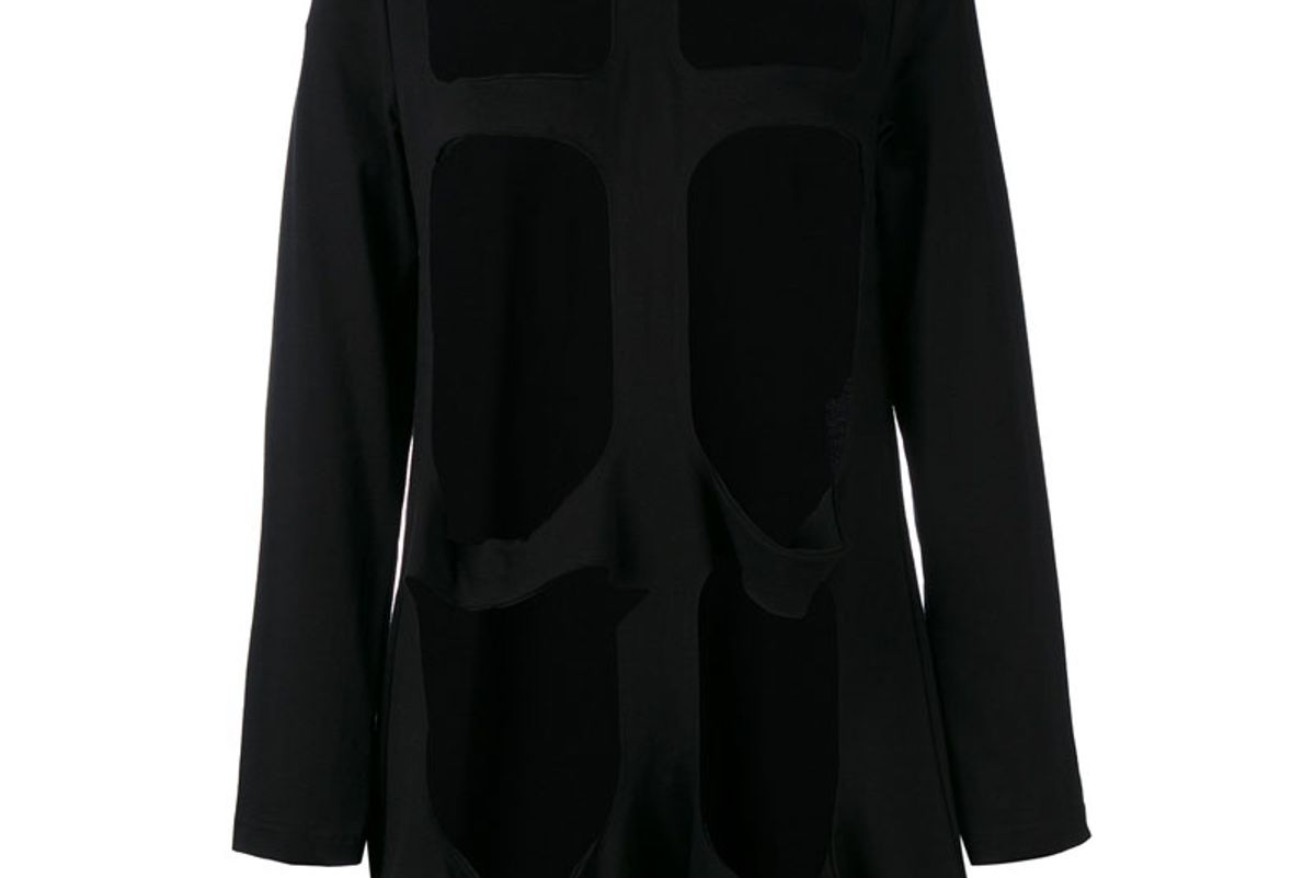 Cut-Out Sweatshirt
