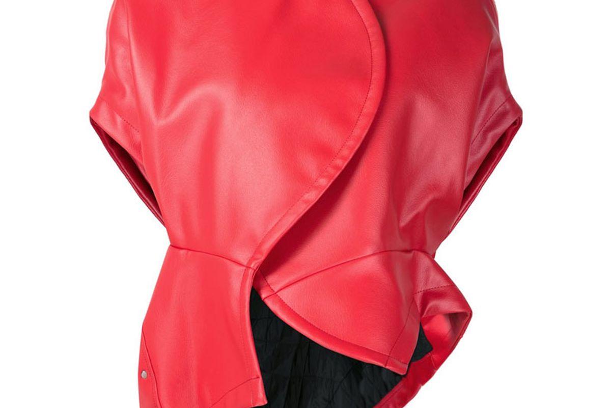 Short Sleeved Biker Jacket