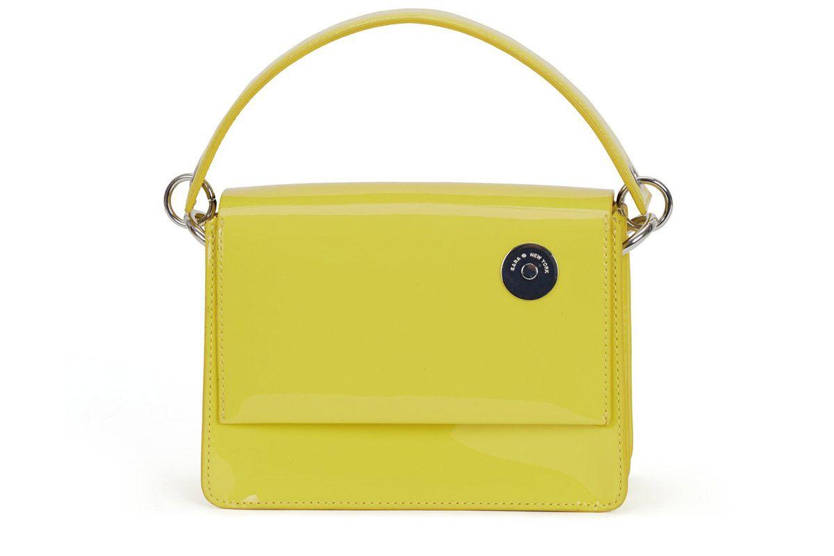 kara store yellow baby pinch shoulder bag