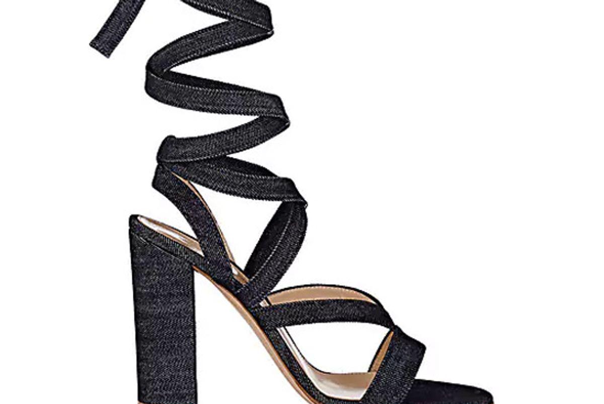 Janis Denim Sandals