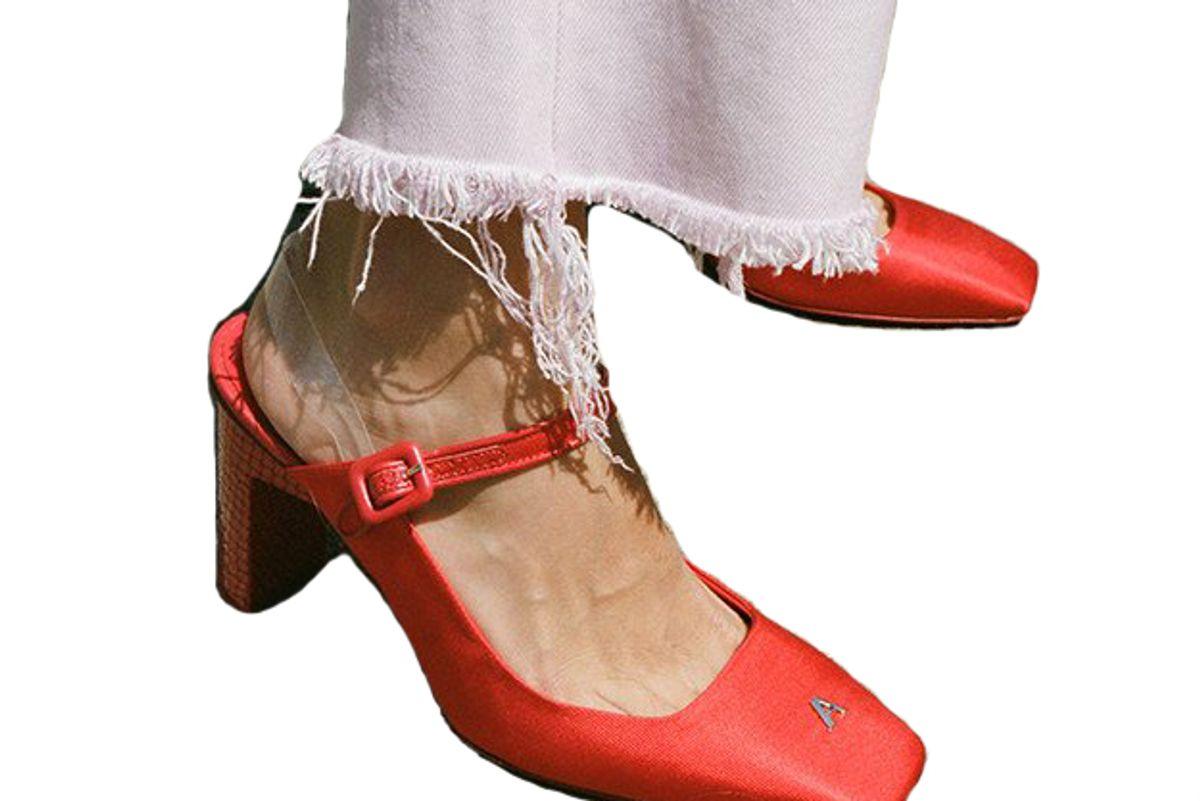 Lara Red Heel