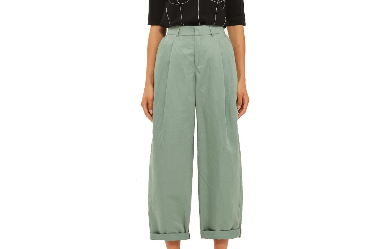 Linen Mensy Trousers by Boutique