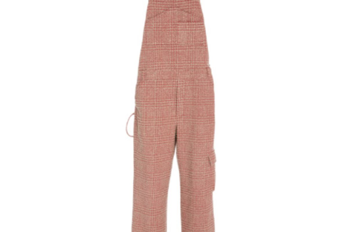 Prince Of Wales Boucle Overalls