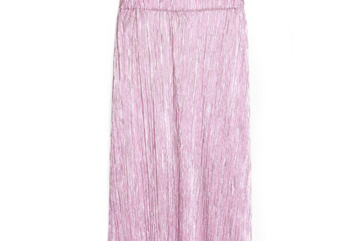 Metallic Sheen Skirt