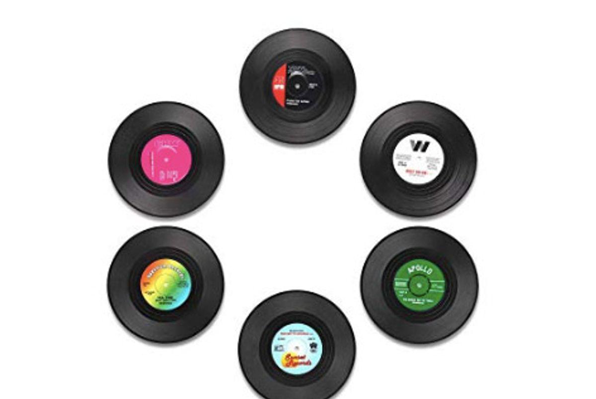 misosa coaster vinyl record coasters
