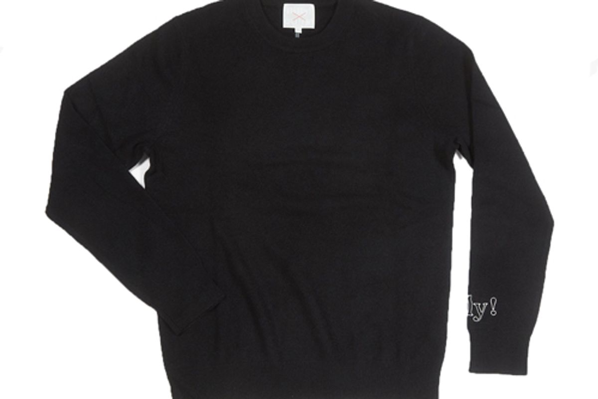 love billy unisex cashmere sweater