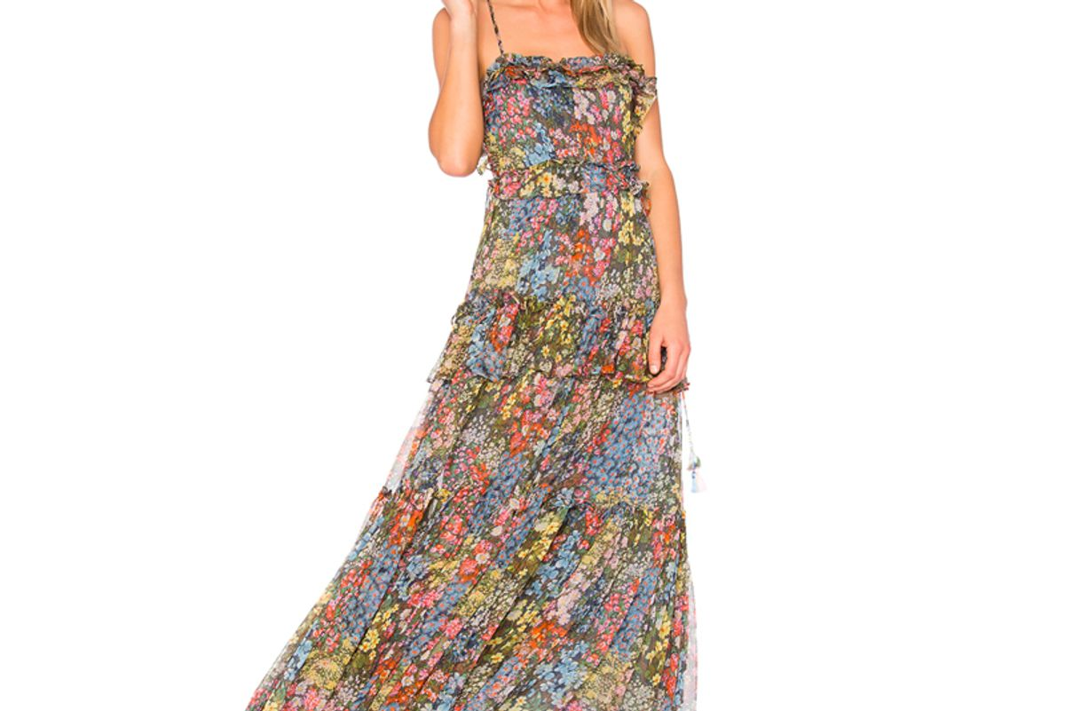 Flowerbed Maxi Dress