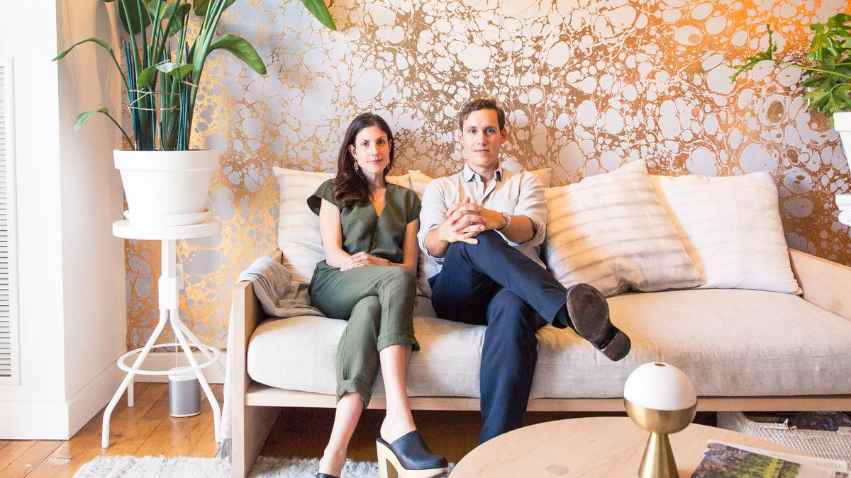 The Couple Making Wallpaper that Doubles as Art
