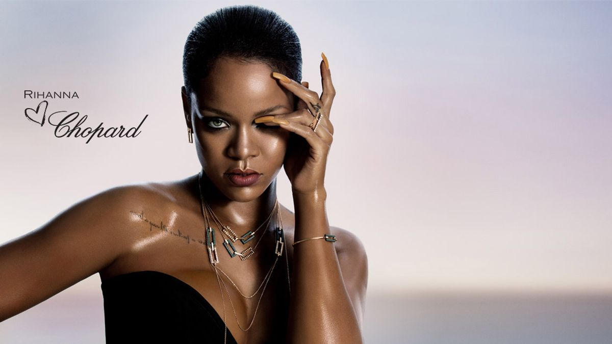Rihanna's Now a Fancy Jewelry Designer, Too