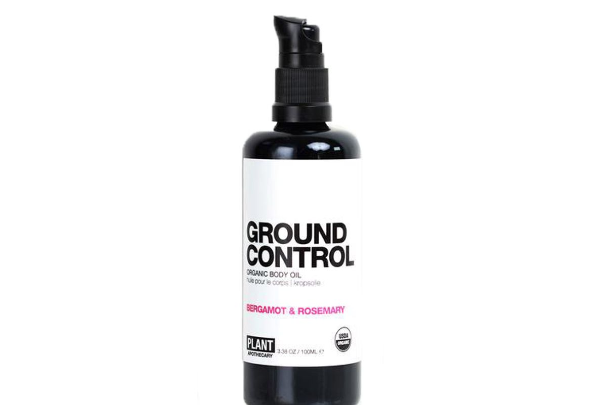 plant apothecary ground control organic body oil