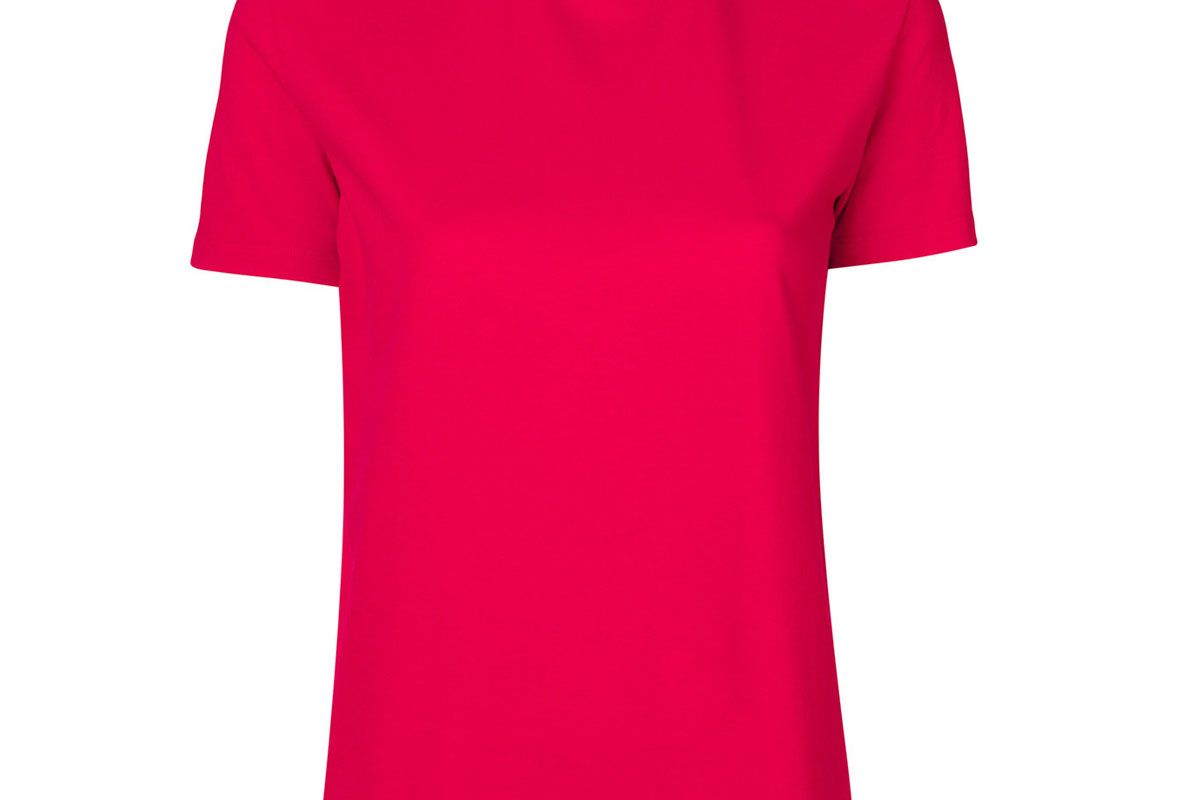 Branded Collar Top