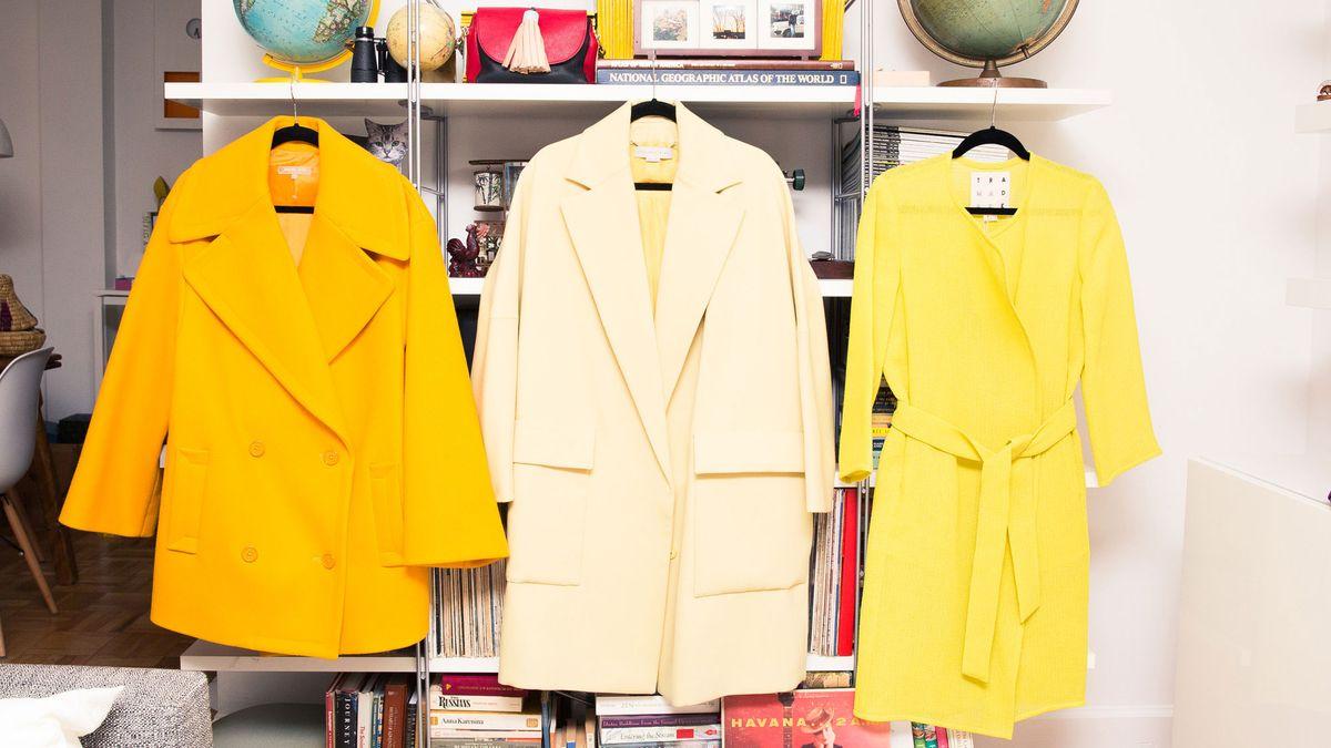 shop colorful winter coats